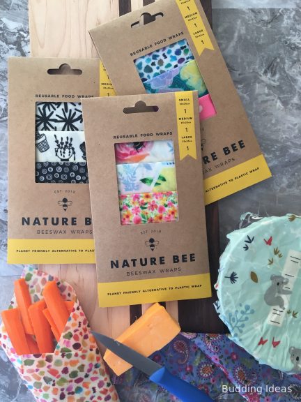 Nature Bee beeswax food wraps
