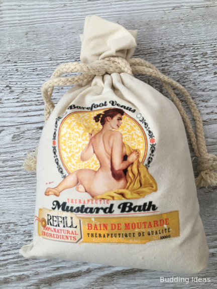 Mustard Bath Refill Bag